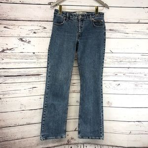 Harley Davidson bootcut medium wash jeans size 6